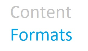 Content formats: what are they and why do you need them?