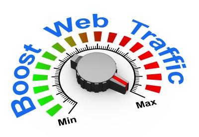 boosting web traffic