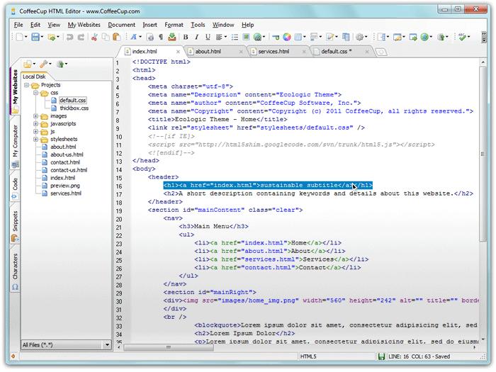 coffeecup-free-html-editor