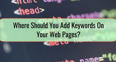Where Should You Add Keywords On Your Web Pages