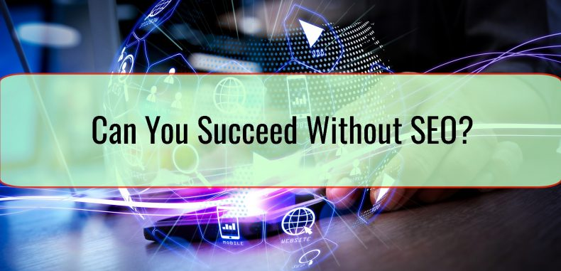 Can You Succeed Without SEO?